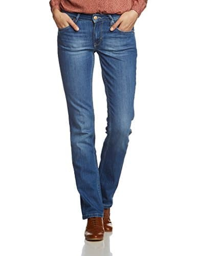 MUSTANG Damen Straight Leg Jeans Sissy cratched used
