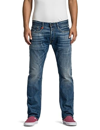 Replay Herren Straight Leg Jeans Newbill