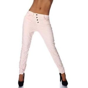 Fashion4Young Damen Jeans Hose