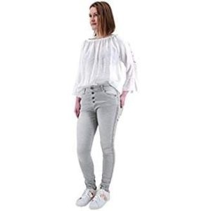 Lexxury Jeans Grau Stretch Baggy
