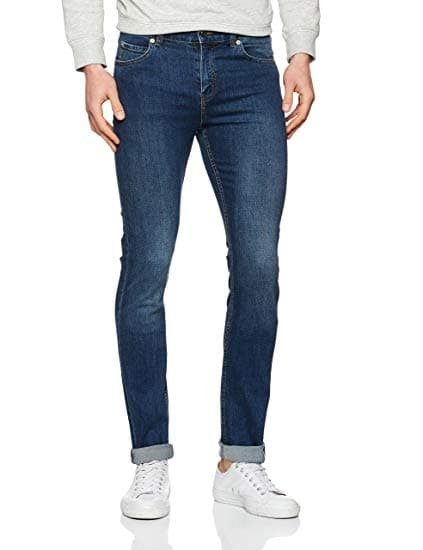cheap monday jeans tight blau